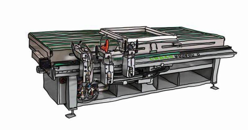 Urban GmbH & Co. Maschinenbau KG Products Fitting assembly Sash frame FAS 320 Sash stop station