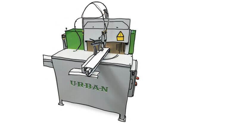 Urban GmbH & Co. Maschinenbau KG Products Milling Drilling AKFU250 End Milling