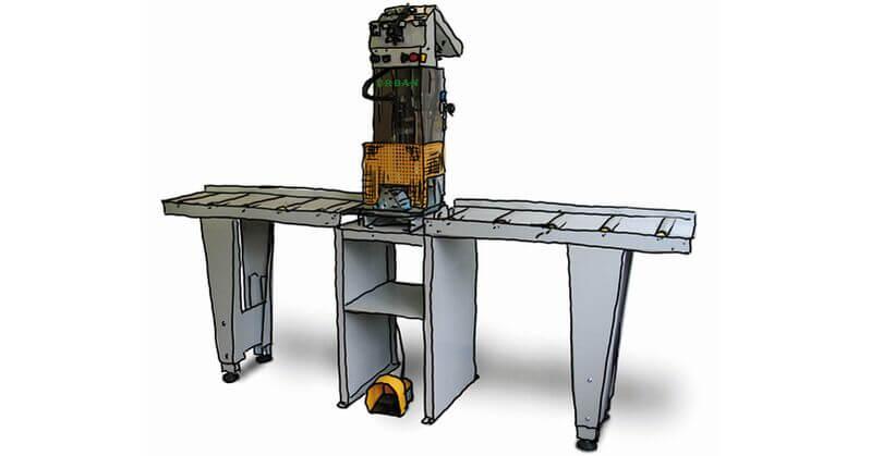 Urban GmbH & Co. Maschinenbau KG Products Screws DS 1700 Screw feed unit