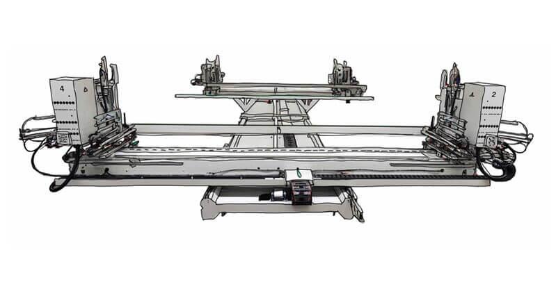 Urban GmbH & Co. Maschinenbau KG Produktschweißen AKS 6600-4 4-Kopf-Schweißmaschine