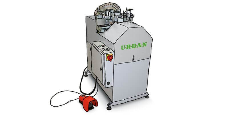 Urban GmbH & Co. Maschinenbau KG Products Cutting GLS 200 Automatic glazing bead saw