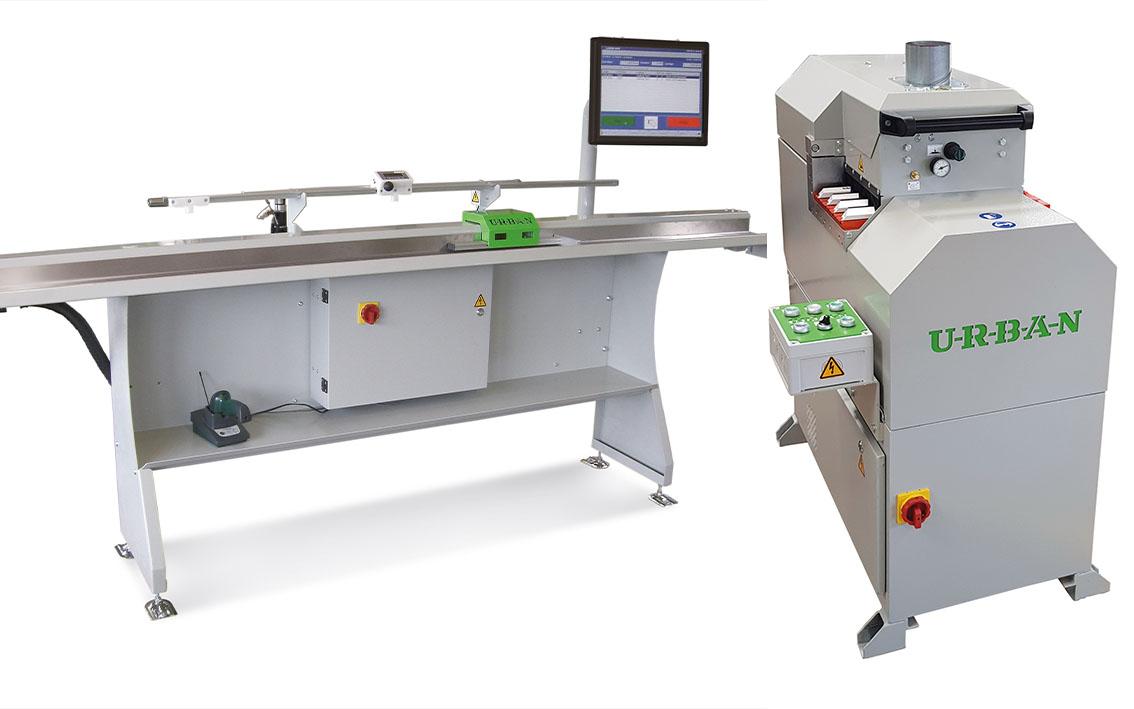 Vorschaubild Glasleistensäge GLS 200-S-4 – Längenanschlag LAEG 2600-4